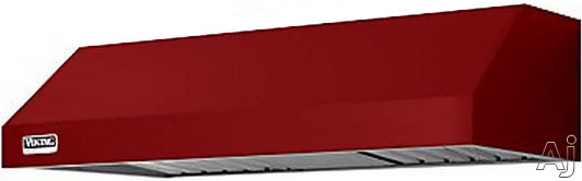 Viking Professional 5 Series VWH3610LAR 36 Inch Under Cabinet Range Hood with 390 CFM Internal Blower, Variable Speed Fan, 2 Dimmable Halogen Lights, Dishwasher Safe Baffle Filters and Heat Sensing Technology: Apple Red