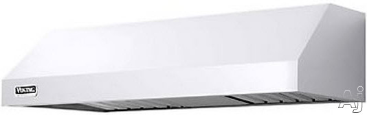 Viking Professional 5 Series VWH3610MWH 36 Inch Under Cabinet Range Hood with 300 CFM Internal Blower, Variable Speed Fan, 2 Dimmable Halogen Lights, Dishwasher Safe Baffle Filters and Heat Sensing Technology: White