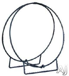 Picture of Blue Rhino W1836 36 Inch Black Log Hoop with 12 Inch Solid Stock