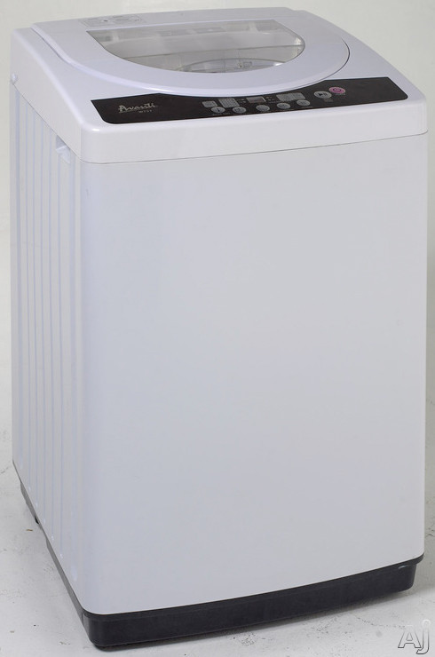 """Avanti W7571 21"""" Portable Top-Load Washer with 1.7 cu. ft. Capacity, Multiple Wash Cycles, 3, U.S. & Canada W7571"""