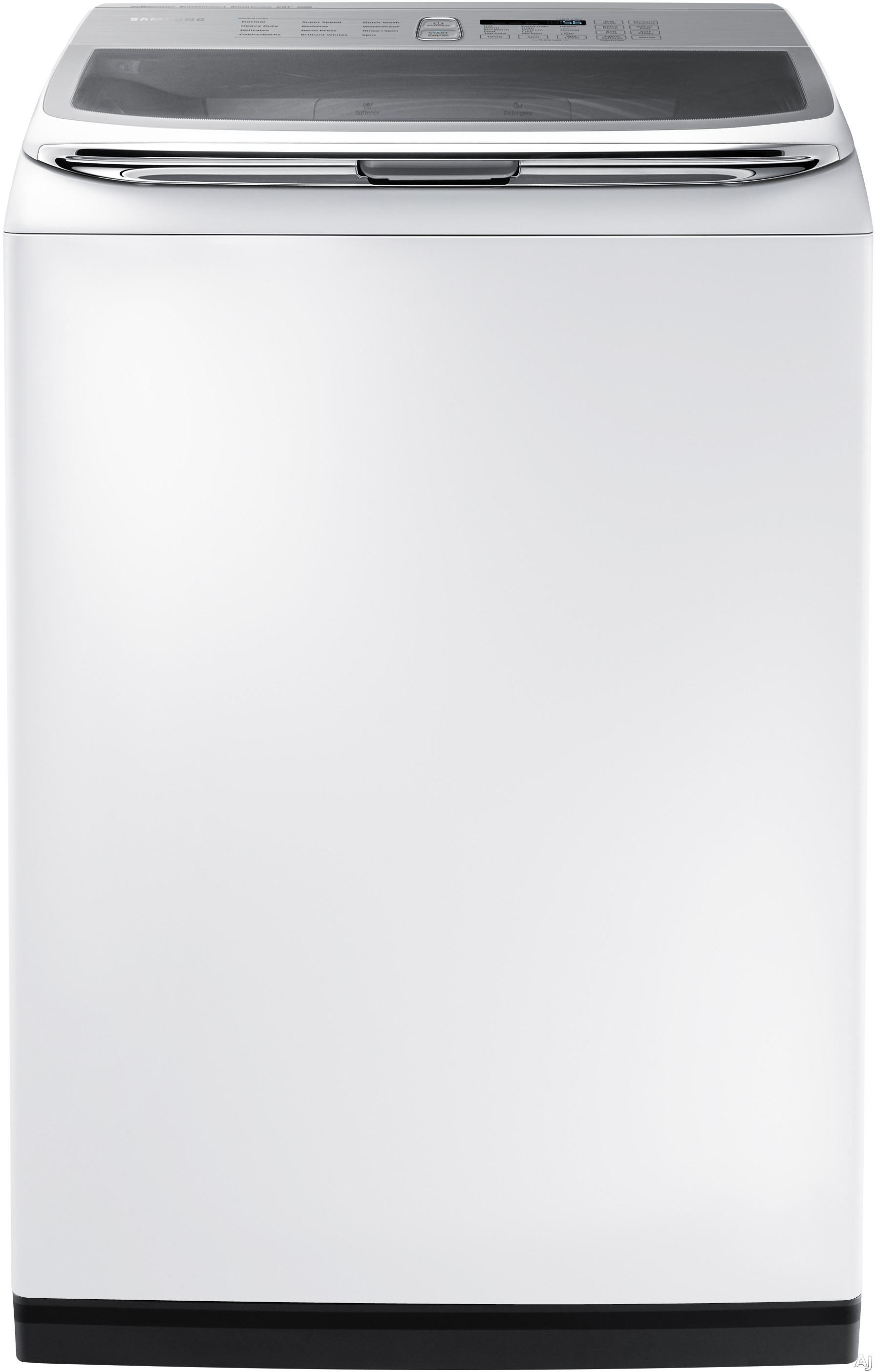 Samsung - Activewash 5.0 Cu. Ft. 12-Cycle High-Efficiency Top-Loading Washer - White WA50K8600AW