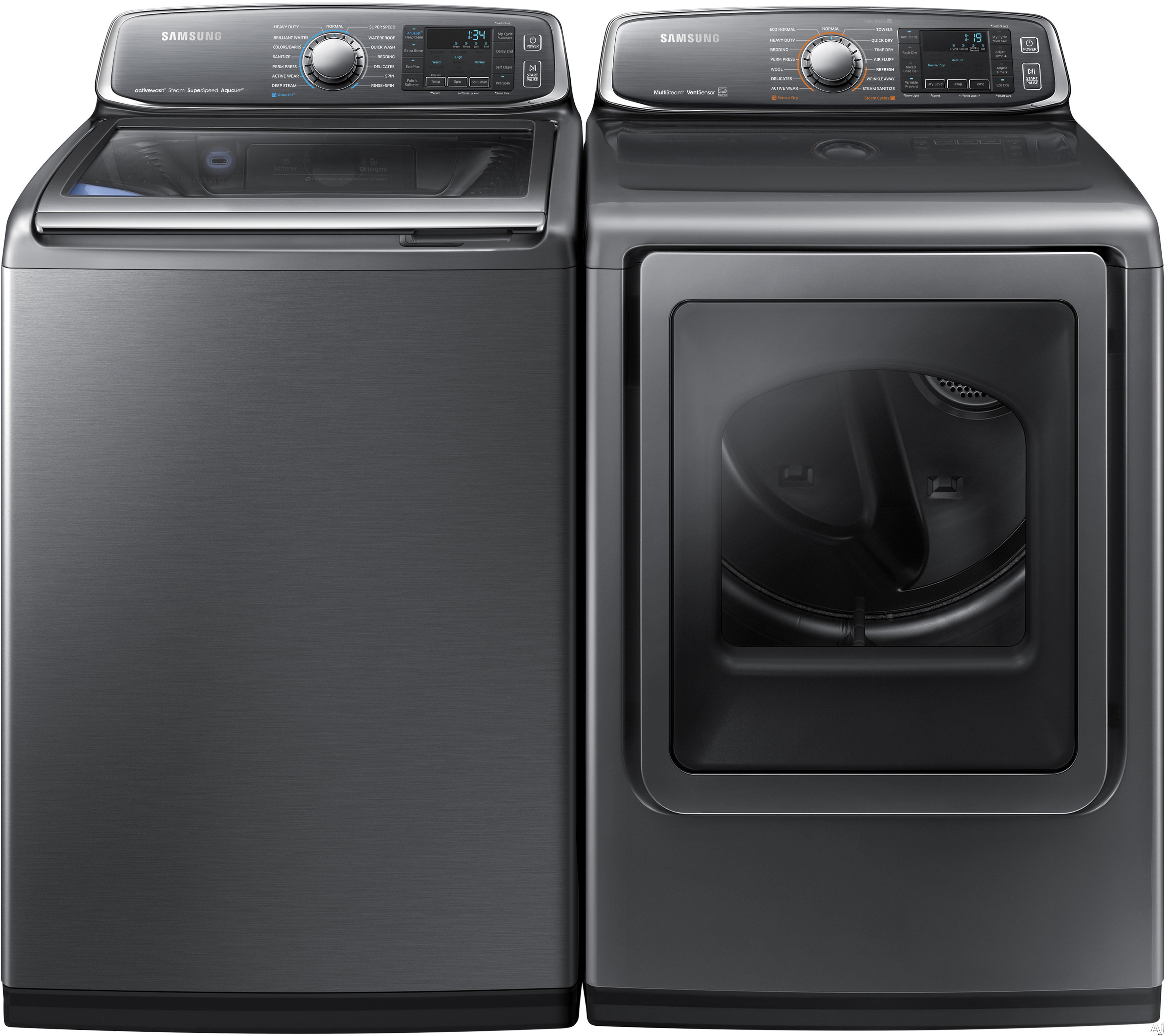 Samsung Wa52j8700ap 27 Quot Top Load Washer With 5 2 Cu Ft