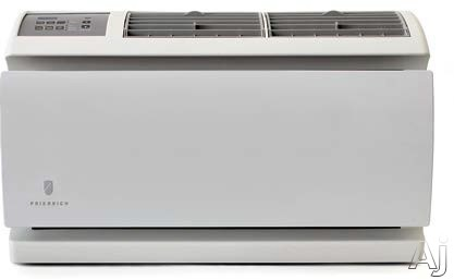 Friedrich WallMaster Series WS08D10A 8,000 BTU Thru-the-Wall Room Air Conditioner with 250 CFM Air Circulation, 3 Fan Speeds, Heavy Duty 20-Gauge Steel Cabinet, EntryGard Anti-Intrusion Protection, Insect Barrier, Electronic Defrost Control, 24-Hour Time