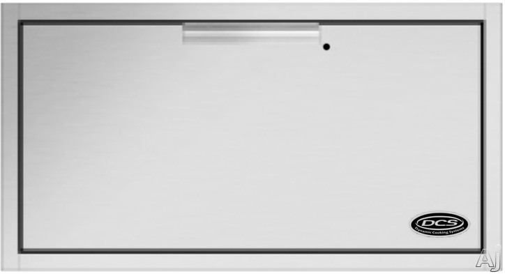 Image of DCS WD130SSOD 30 Inch Built-in Warming Drawer with 1.6 cu. ft. Capacity, 500 Watts, Removable Stainless Steel Shelf/Serving Tray and Thermostatic Temperature Control