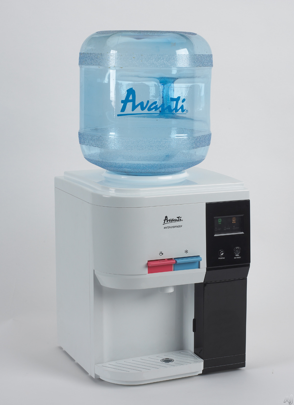 Avanti WD31EC 13 Inch Table Top Water Cooler for 2 3 or 5 Gallon Bottles with Cup Holder