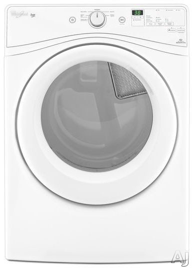 Whiirlpool WED72HEDW – Duet HE Electric Dryer Fully Automatic Dryers Front Load