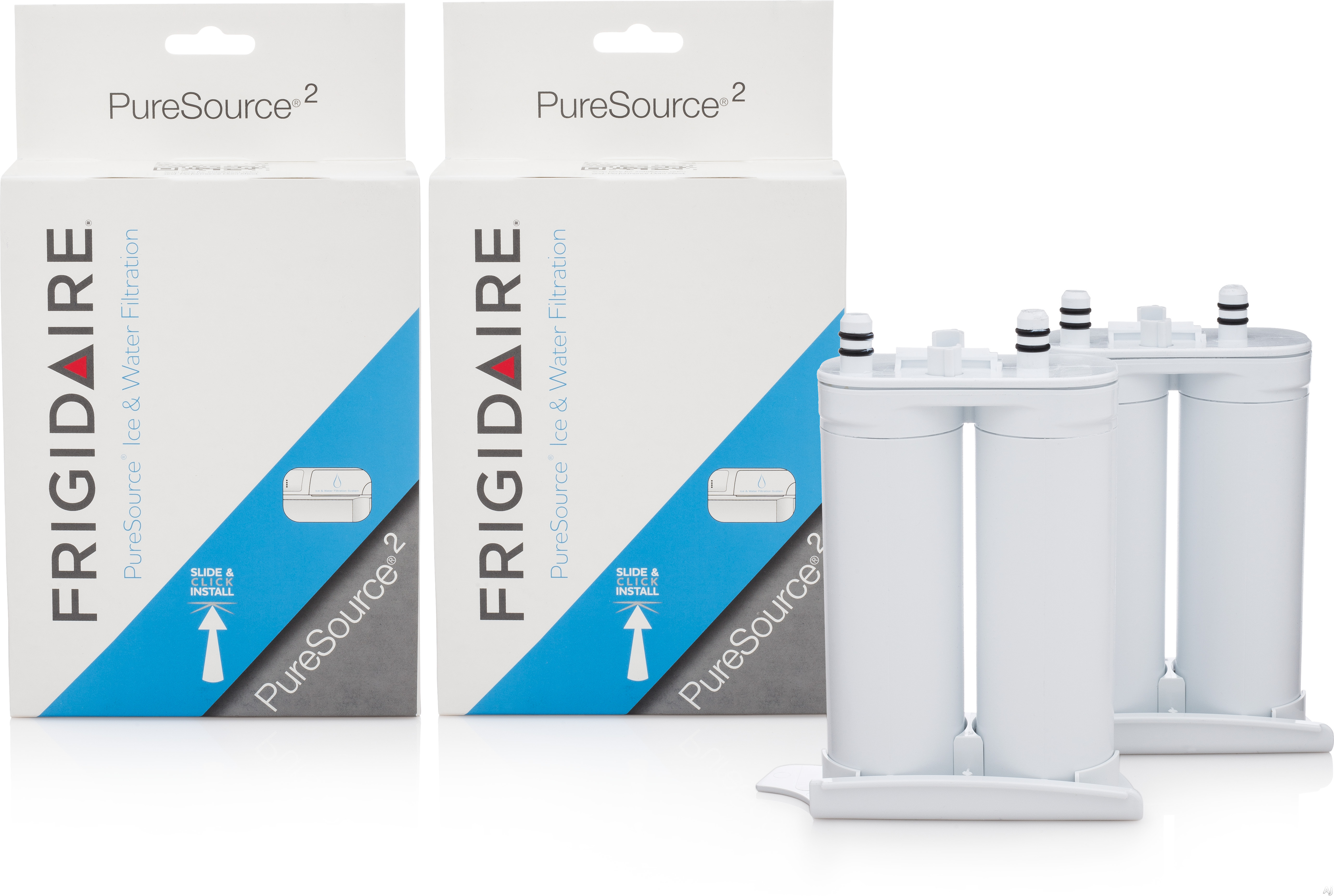 Frigidaire WF2CB2PAK PureSource 2 ® Replacement Ice and H Filter, 2 Pack