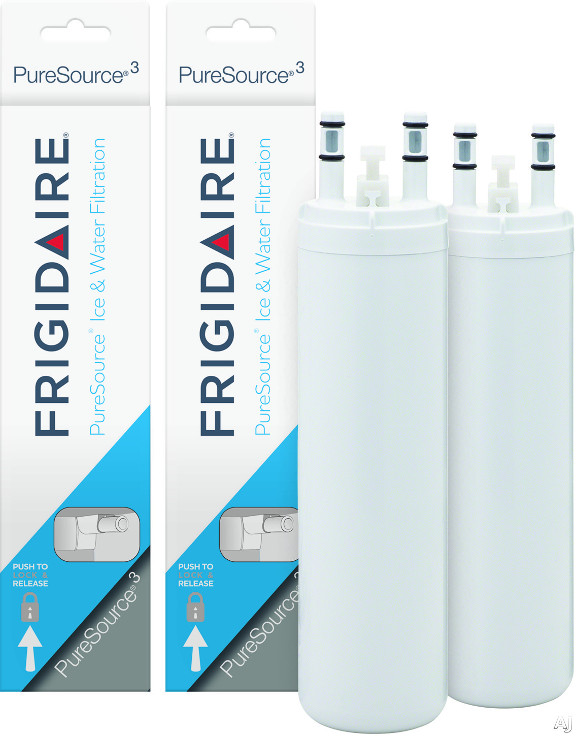 Frigidaire WF3CB2PAK PureSource ® 3 Replacement Ice and Cut Filter, 2 pack