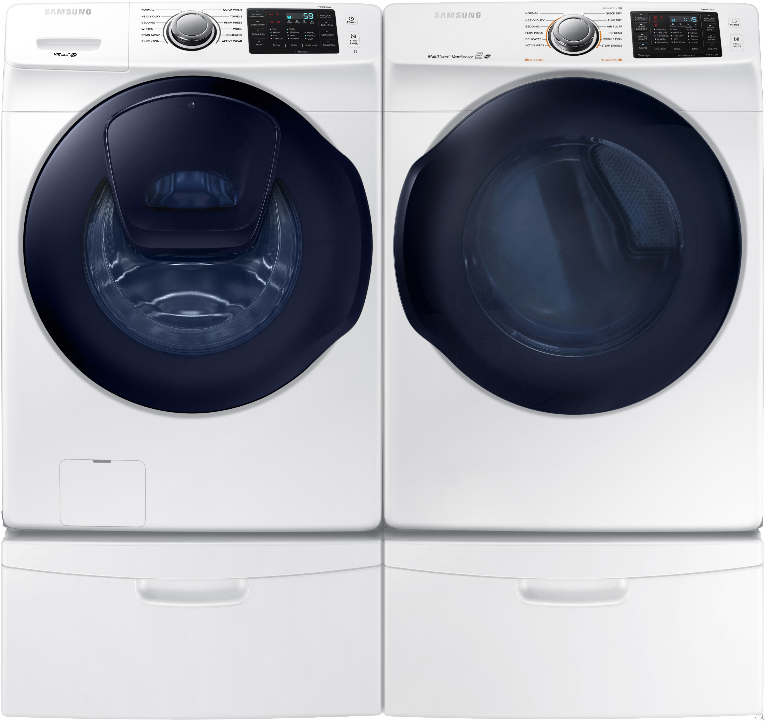 samsung apartment size stackable washer and dryer full