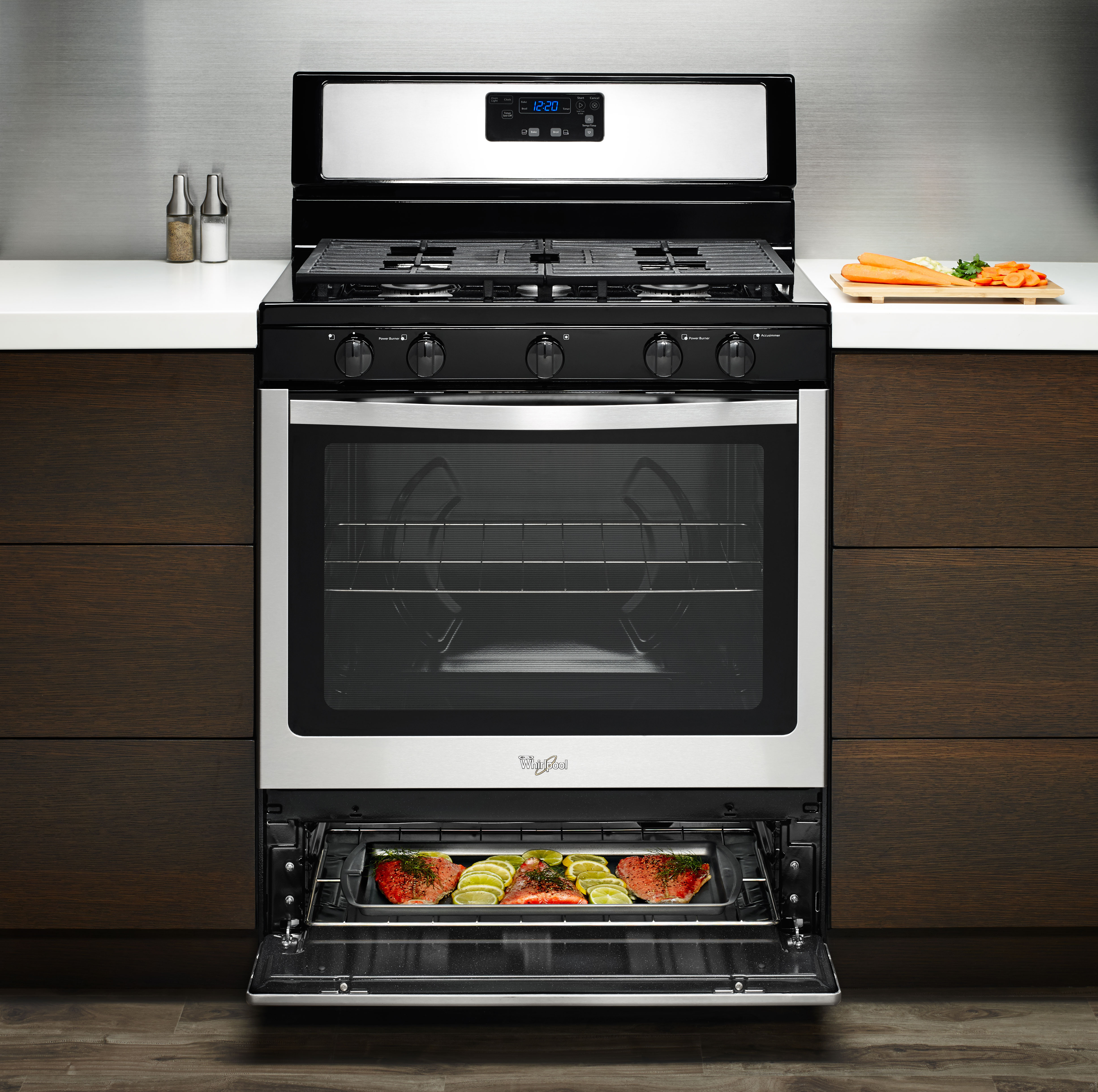 Whirlpool Wfg505m0bw 30 Quot Freestanding Gas Range With 5