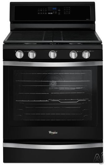 Whirlpool WFG745H0FE 30 Inch Freestanding Gas Range with EZ-2-Lift™ Cast-Iron Grates, Frozen Bake™ Technology, SpeedHeat™ Burner, True Convection, AquaLift® Self Clean, 5.8 cu. ft