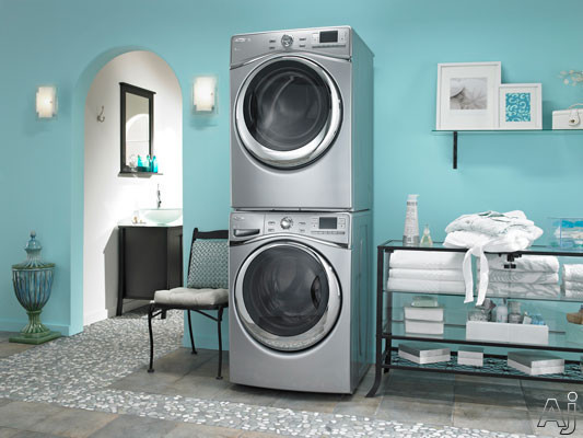 Stacked In-Home View with Matching Washer (Sold Separately)