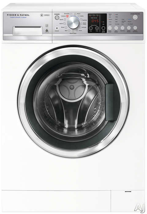 Fisher & Paykel WH2424F1 24 Inch Front Load Washer with SmartDrive™, Time Saver Option, Woolmark™ Guarantee, Drum Clean Cycle, ENERGY STAR® and 2.4 cu. ft. Capacity WH2424F1