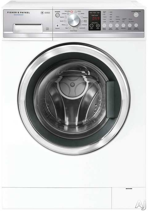Fisher & Paykel WH2424P1 24 Inch Front Load Washer with SmartDrive™, Sanitize wash, Add a Garment, 13 Wash Cycles, ENERGY STAR® and 2.4 cu. ft. Capacity WH2424P1