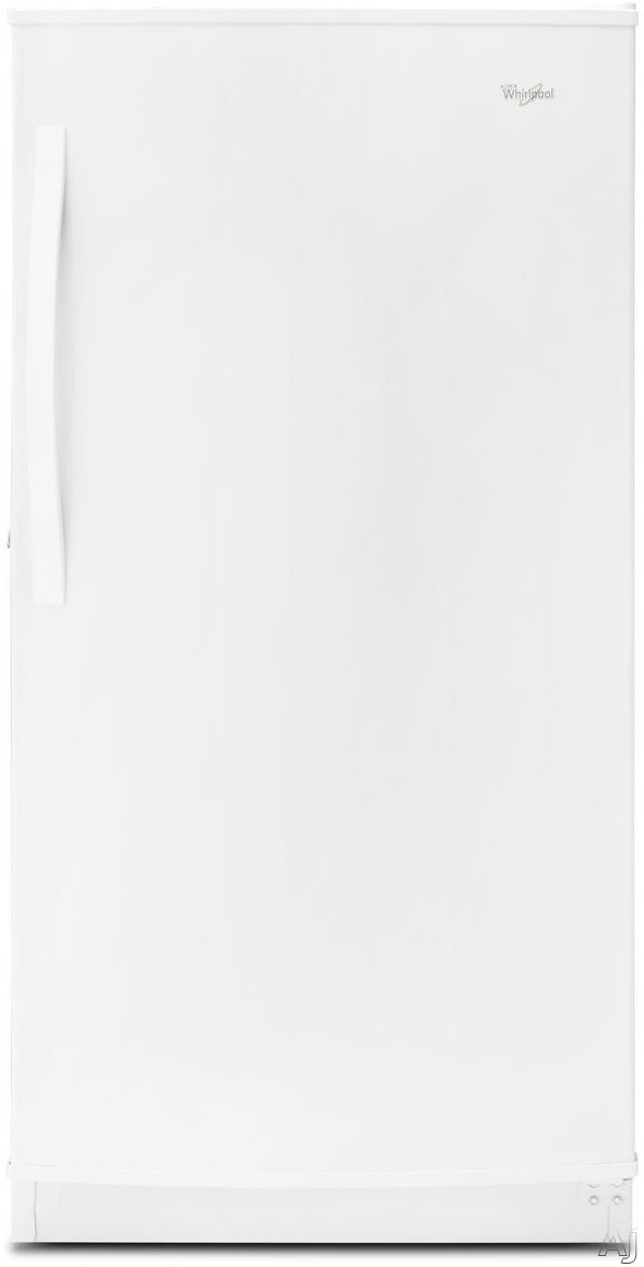 Whirlpool WZF57R16FW 34 Inch All Freezer with 16 cu. ft. Capacity, 3 Freezer Shelves, 5 Door Bins, Quick Freeze, Frost-Free Operation, Temperature Alarm, ENERGY STAR Certification and Optional Ice Maker