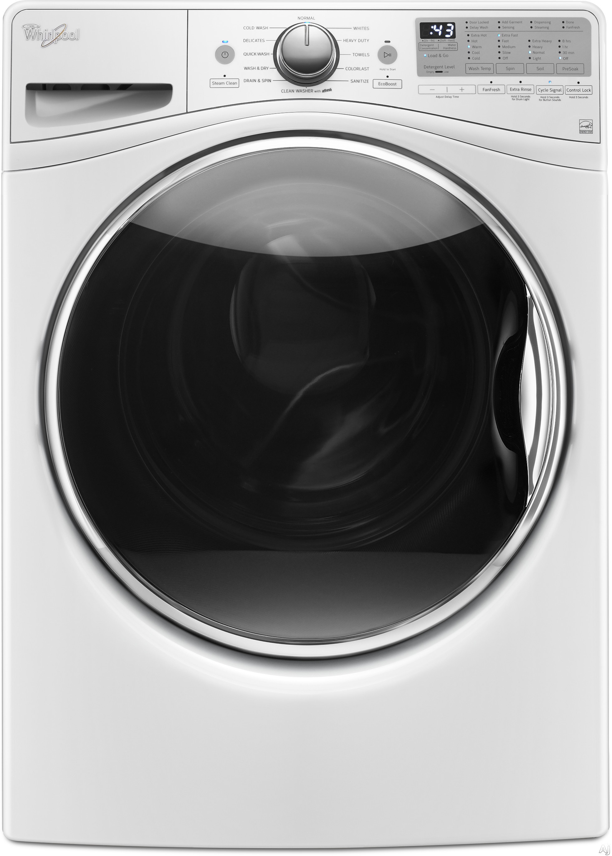 Whirlpool Laundry,Whirlpool Washers,Whirlpool Front Load (Tumble)