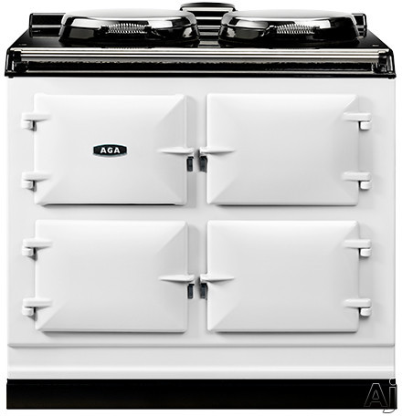 AGA ADC3E 39 Inch Freestanding Electric Cooker with Boiler Hot Plate, Simmering Hot Plate, Roasting Oven, Baking Oven, Slow-Cook Oven and Insulated Covers