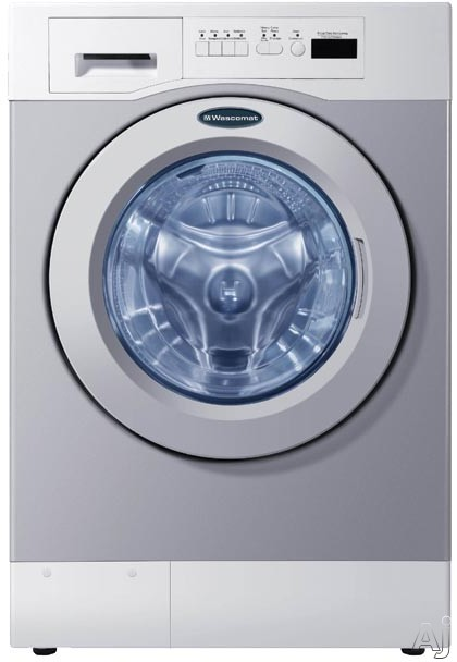 Crossover WHWF09810DC 27 Inch Commercial Front-Load Washer with 3.5 cu. ft. Capacity, 15,000 Cycle Life, 1,000 RPM Spin Speed, 4 Wash Cycles, 300 G Force, 8-Point Suspension, ADA Certified and Energy Star Rated: Card Ready WHWF09810DC