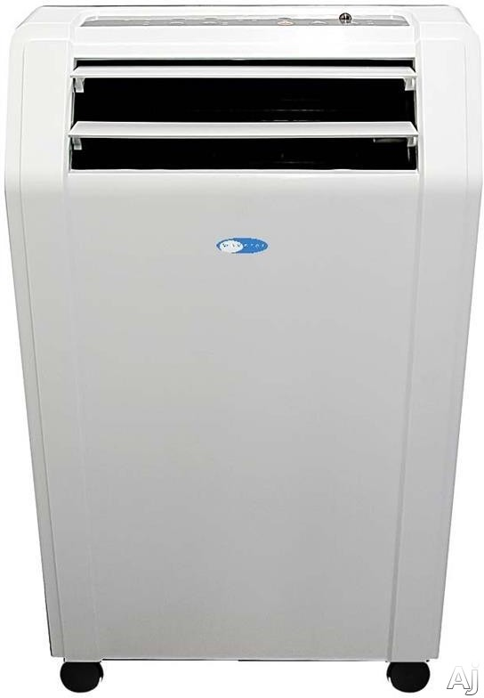 Whynter ARC10WB 10,000 BTU Portable Air Conditioner with 224 CFM, Dehumidification Mode, 4 Fan Speeds, Washable Pre-Filter and Advanced Antimicrobial Filter, Timer, Casters, Auto Restart and Self-Evaporating