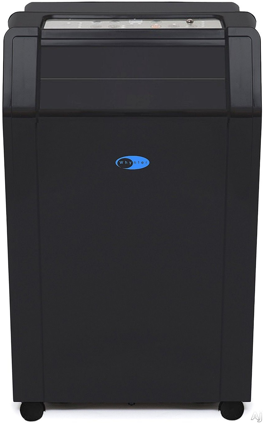 Whynter ARC142BX 14,000 BTU Portable Air Conditioner with 317 CFM, Dehumidification Mode, Eco-Friendly R-410A Refrigerant, Self-Evaporative System, Timer, Casters, Remote Control, 2-in-1 Silver-Ion Coated Washable Pre-Filter and Activated Carbon Filter a