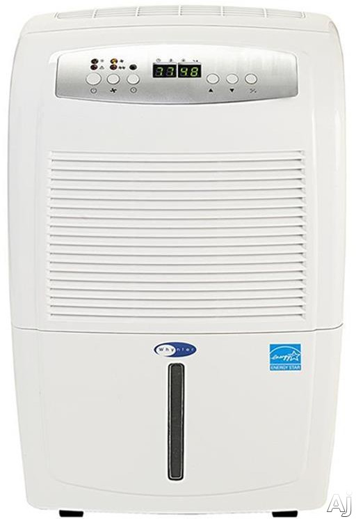 Whynter RPD702WP 70 Pint Portable Low Temperature Dehumidifier with 110 CFM Air Flow, Direct Drain Option, Non-Ozone Depleting R410a, Dual Fan Speeds, Auto Defrost, Handles and Casters
