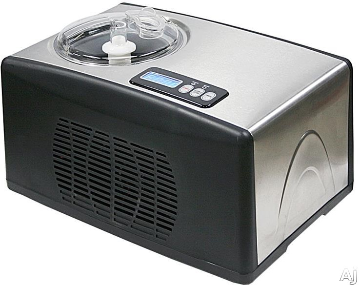 Whynter ICM15LS Ice Cream Maker with LCD Controls Electronic Timer Temperature Display and Ice Cream Scoop