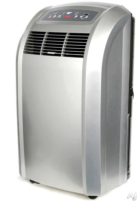 Whynter ARC12S 12 000 BTU Portable Air Conditioner with 188 CFM Air Flow 400 Sq Ft Cooling Area Dehumidification Mode Carbon Filter 3 Fan Speeds Full Thermostatic Control 24 Hr Timer and Extendable Hose Up to 60