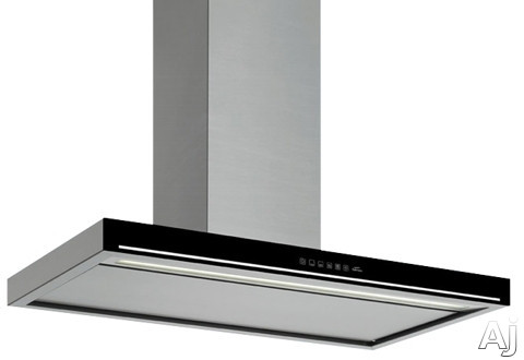 Futuro Futuro Edge Series WL36EDGE 36 Inch Wall Mount Chimney Range Hood with 940 CFM Internal Blower, 4-Speed TouchFree Controls, Whisper-Quiet Fan, Fluorescent Lighting and Convertible to Non-Ducted Operation