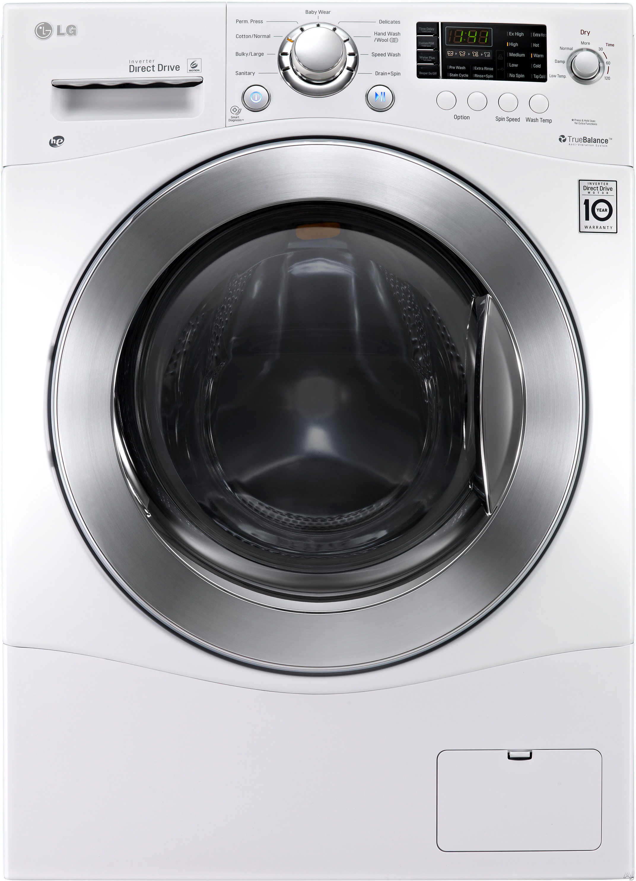 LG WM3477HW 24 Compact Washer Dryer Combo