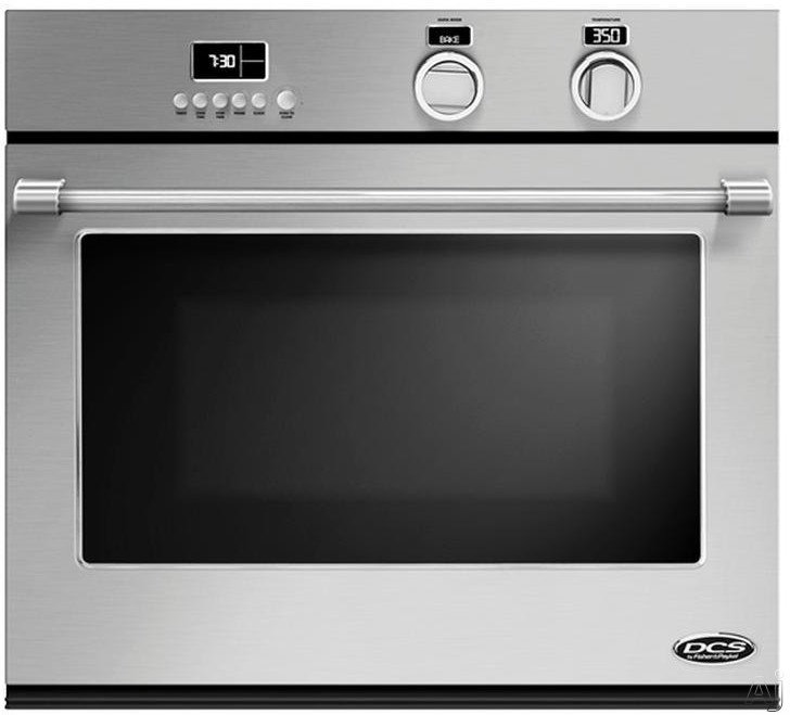 "DCS WOSV30 29.75"" Single Electric Wall Oven with 4.0 cu. ft. True Convection Oven, Self-Cleaning, 10 Cooking Modes, 3 Adjustable Racks, 3 Halogen Lights and Included Cooking Probe and Bake Tray"