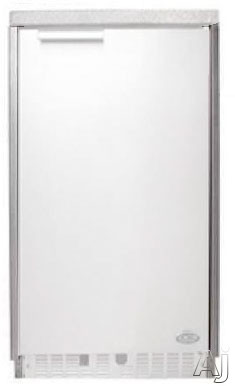 DCS WR15I Brushed Stainless Steel Wrapper for Ice Maker