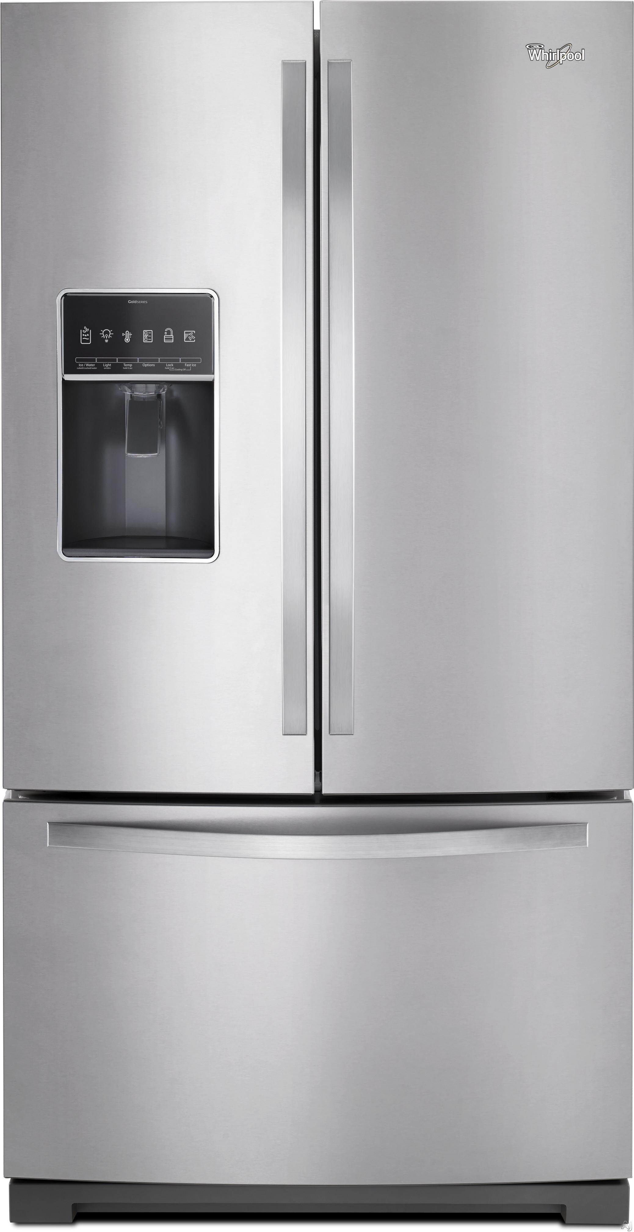Whirlpool Wrf757sdem 26 8 Cu Ft French Door Refrigerator