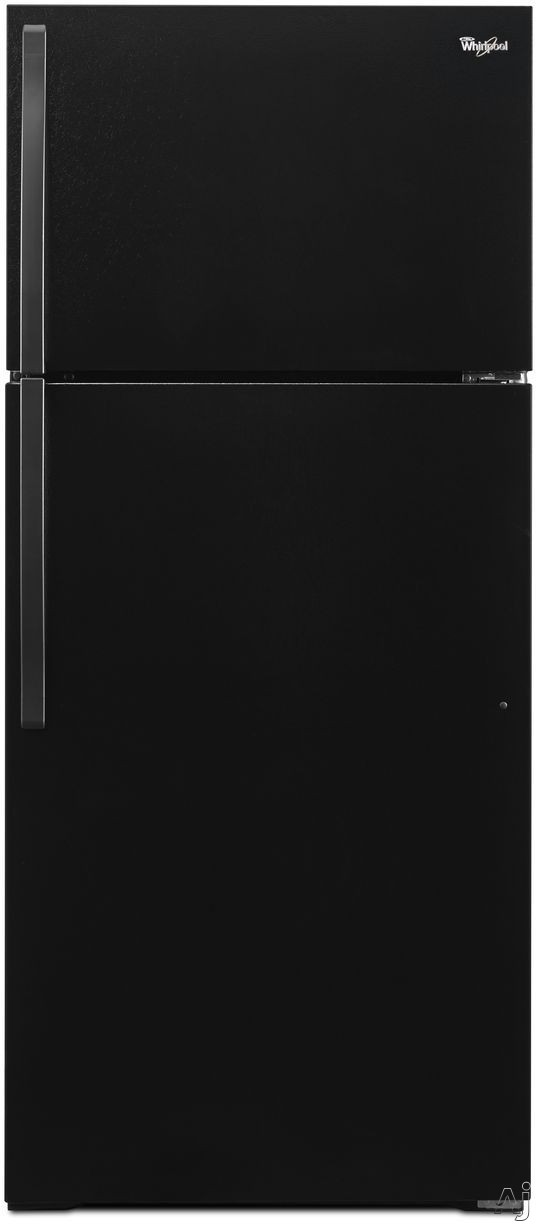 Whirlpool WRT134TFD 28 Inch Top-Freezer Refrigerator with ENERGY STAR Certification, Quiet Cooling, Optional Ice Maker, Adjustable Wire Shelving, 2 Produce Drawers, Dairy Bin, 3 Door Bins, ADA Compliant and 14.3 cu. ft. Capacity