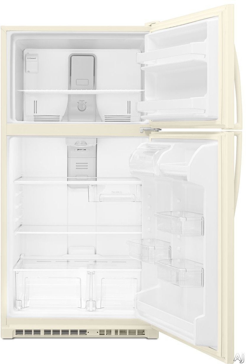 Whirlpool Wrt311fzdt 20 5 Cu Ft Top Freezer Refrigerator