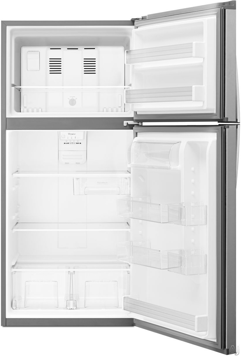 Whirlpool Wrt519szdd 19 2 Cu Ft Top Freezer Refrigerator