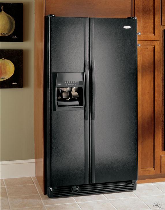 Whirlpool Gs5shaxnl 25 5 Cu Ft Side By Side Refrigerator
