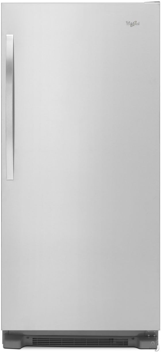 Whirlpool Sidekicks WSR57R18D 30 Inch All-Refrigerator with In-Door Pizza Pocket, Gallon Door Storage, Temperature Alarm, Adjustable Glass Shelves, 4 Humidity Controlled Drawers, LED Interior Lighting, Electronic Temperature Controls and 18.0 cu. ft. Capa