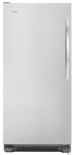 Whirlpool Sidekicks WSZ57L18D 18.0 cu. ft. All Freezer with 4 Adjustable Glass Shelves, Electronic Temperature Control, Fast Freeze, 4 Door Bins, Interior LED Lighting, Temperature Alarm and Frost-Free Defrost