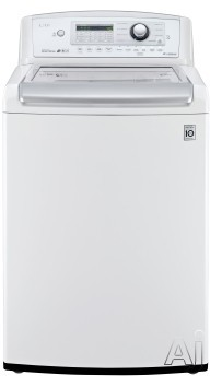 "White Laundry Pair with WT5270CW 27"""" Top Load Washer and DLG4971W 27"""" Gas"" 730440"