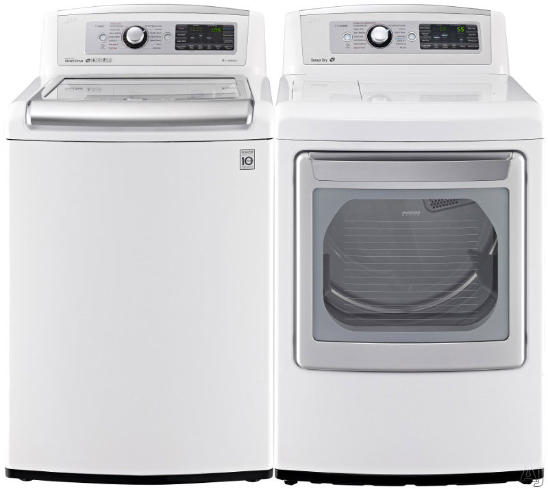 Lg Lg5680tl Lg 5680 Series Top Load Washer Dryer Pair