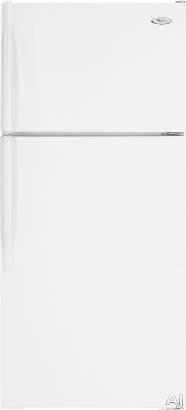 Whirlpool W5TXEWFWQ 14.5 cu. ft. Top-Freezer Refrigerator with 2 Wire Shelves, Fixed Gallon Door, U.S. & Canada W5TXEWFWQ