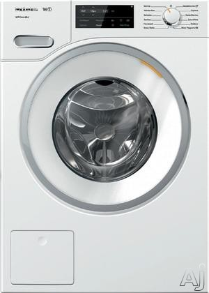 Miele WWF060WCS 24 Inch Front Load Washer with HoneyComb Drum, 2.26 Cu. Ft. Capacity, 13 Wash Programs, CapDosing, SoftStream, WiFiConn@ct, Eco Feedback Indicator, Energy Star, Delayed Start and Countdown Indicator WWF060WCS