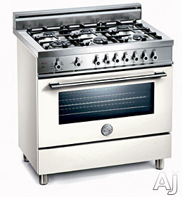 Bianco / Pure White Of 6 Burners Model
