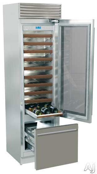 fhiaba-x-pro70-series-xg5990twt6u-24-built-in-wine-cellar-with-81-bottle-capacity-9-wooden-shelves-trimode-convertible-freezer-drawer-led-lighting-stainless-steel-interior-right-hinge-door-swing