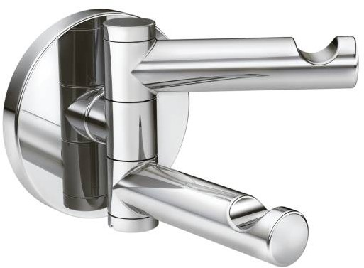 Image of Moen Align YB0402CH Chrome double robe hook