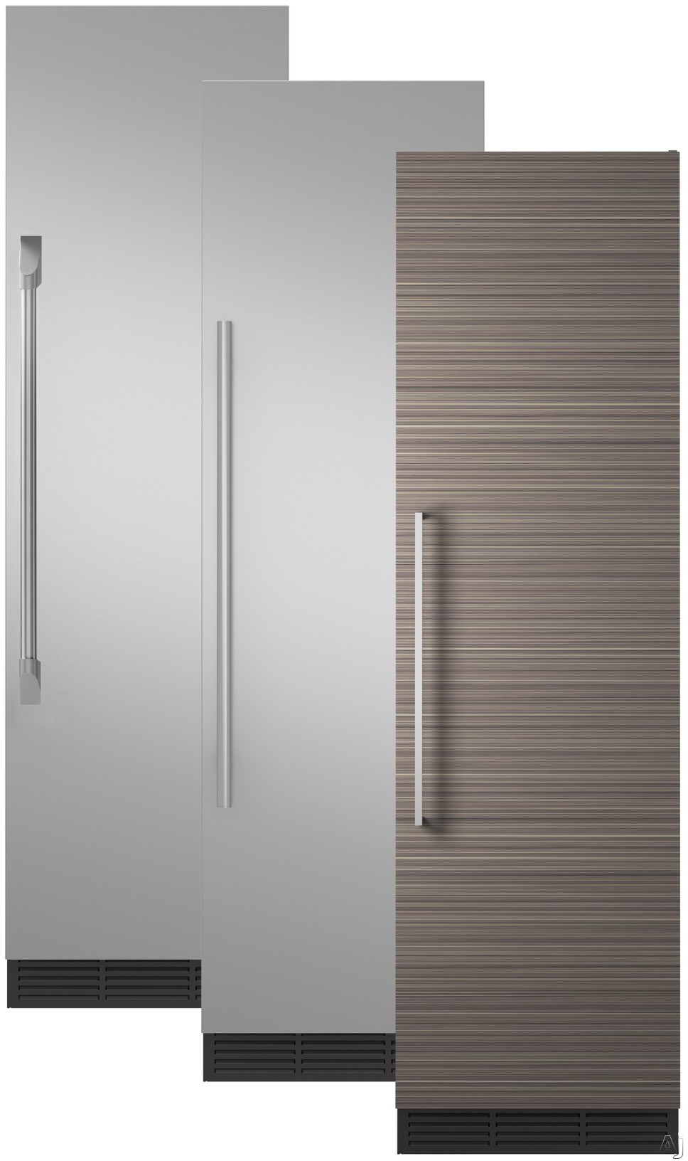 Image of Monogram ZIR240NPKII 24 Inch Panel Ready Refrigerator Column with Wi-Fi Connectivity, Autofill Pitcher, Spill-Resistant Glass Shelving, Adjustable Door Bins, Humidity-Controlled Vegetable Drawer, Temperature-Controlled Drawer, Sabbath Mode and 13.1 cu. ft