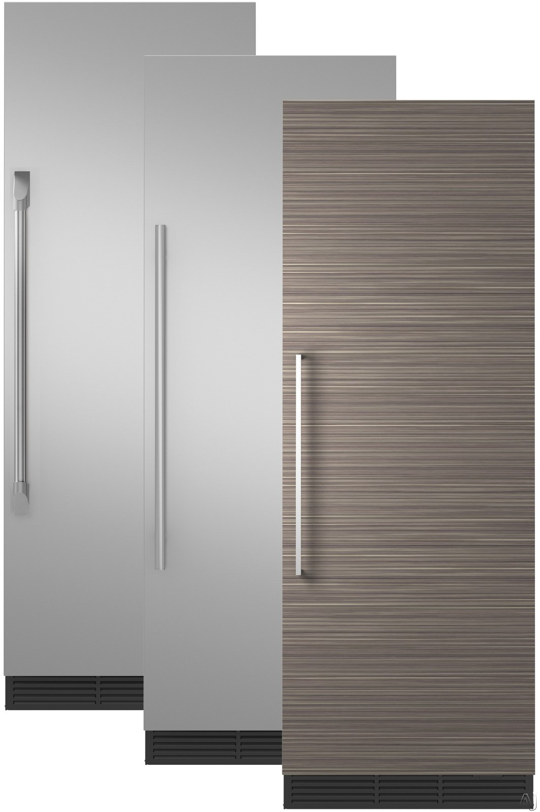 Image of Monogram ZIR300NPKII 30 Inch Panel Ready Refrigerator Column with Wi-Fi Connectivity, Autofill Pitcher, Spill-Resistant Glass Shelving, Adjustable Door Bins, Humidity-Controlled Vegetable Drawer, Temperature-Controlled Drawer, Sabbath Mode and 17.3 cu. ft