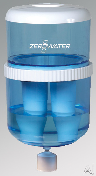 Avanti ZJ003IS ZeroWater Water Bottle Kit with 8 lb. Weight 2 Water Filters and Stainless Steel Reservoir