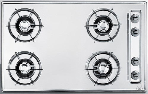 Summit ZNL05P 30 Inch Gas Cooktop with