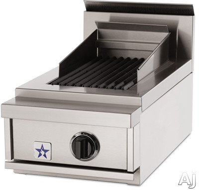 BlueStar PRZ15IDCB Pro-Style Indoor Charbroiler: 15 Inches